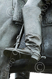 STY - MGGACUSTER 00007 Maj Gen George Armstrong Custer'd left boot, by Peter J Mancus