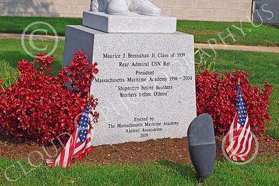 Sty - Maurice J Bresnaham, Jr 00002 Maurice J Bresnaham, Jr, US Navy Rear Admiral, Ret, President, Massachusetts Maritime Academy, by John G Lomba