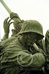 STY-USMCM 00027 A close up detail view of the world famous US Marine Corps Memorial in Washington DC, statue picture by Peter J Mancus