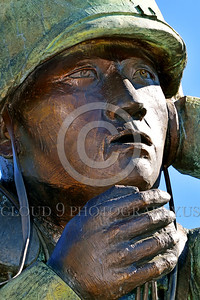 STY-Code Talkers 00015 A tight crop of a statue honoring World War II USMC Navajo Indian code talkers who stumped the Japanese and contributed significantly to the American victory, statue picture by Peter J  Mancus