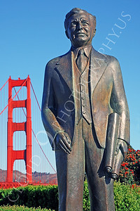 STY - Joseph B Strauss, Chief Engineer for the Golden Gate Bridge 00003 by Peter J Mancus