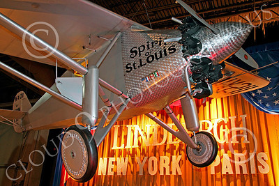 CRS 00001 A replica of Lindbergh's Ryan Spirit of St Louis airplane picture, by Peter J Mancus