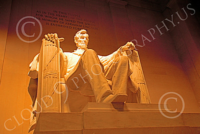 STY-ALINCOLN 00028 A pleasing view of the Lincoln Memorial in Washington DC statue picture by Peter J Mancus