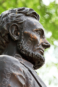 STY - ALINCOLN 00005 A side view of Abraham Lincoln, by Peter J Mancus