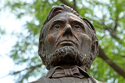 STY - ALINCOLN 00008 A tight crop of Abraham Lincoln's head, by Peter J Mancus