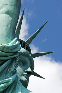 STATUTE OF LIBERTY 00018 by Peter J Mancus