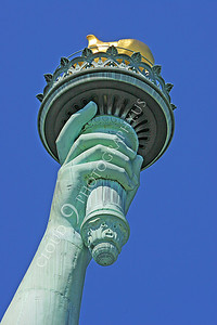 STATUTE OF LIBERTY 00021 by Peter J Mancus