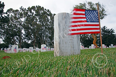 AMER-MilCem 00014 A sobering sight--Tombstones of American military service members at a US military cemetery on Memorial Day, by Peter J Mancus