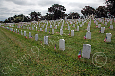 AMER-MilCem 00020 A small part of a 300 plus acres US military cemetery on Memorial Day, by Peter J Mancus