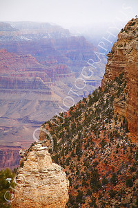 SCGNP 00023 One of many Grand Canyon cliffs, by Peter J Mancus