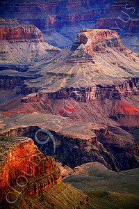 SCGNP 00011 A beautiful detailed view deep inside the Grand Canyon, by Peter J Mancus