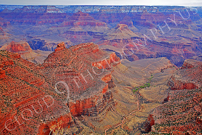 SCGNP 00028 Trillions of tons of red and magenta Grand Canyon rock, by Peter J Mancus