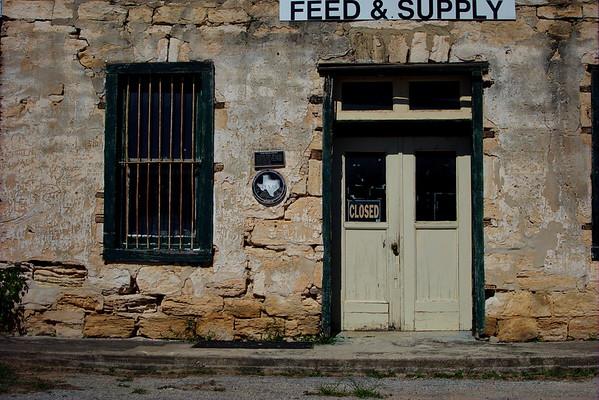 Old Rock Store, Utopia, Texas, June 2015.