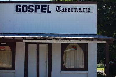 Gospel Tabernacle, Utopia, Texas. June 2015.