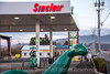 Oregon<br /> Tillamook<br /> Sinclair Dinosaur