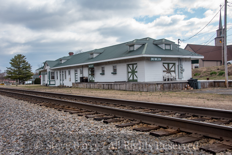 Virginia<br /> Dublin<br /> Railroad station