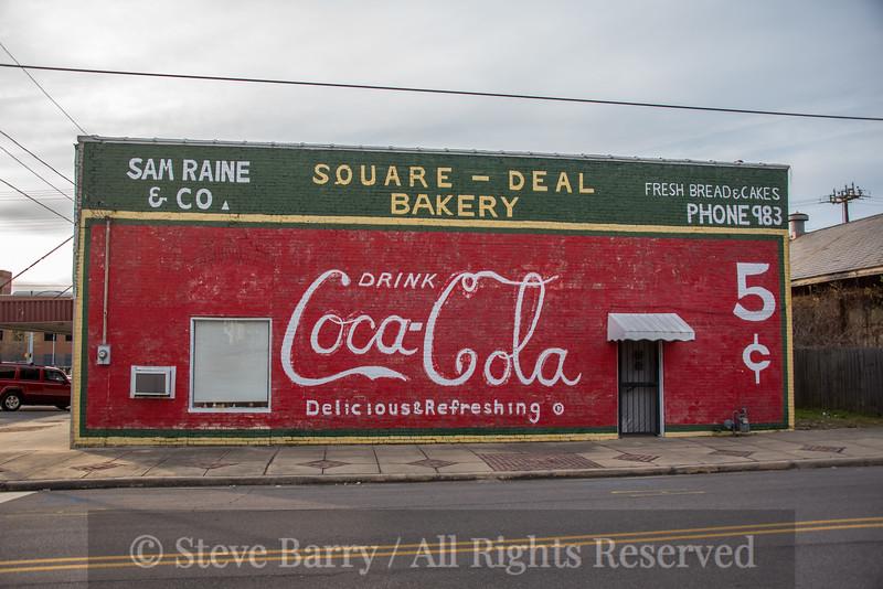 Alabama<br /> Bessemer<br /> Coca-Cola sign