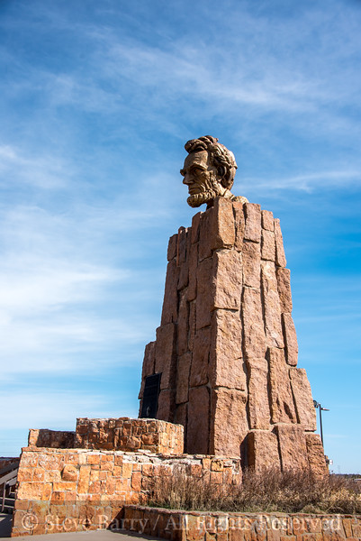 Wyoming<br /> Buford / Sherman Summit<br /> Abraham Lincoln monument at highest point on Lincoln Highway / U.S. 30 / I-80