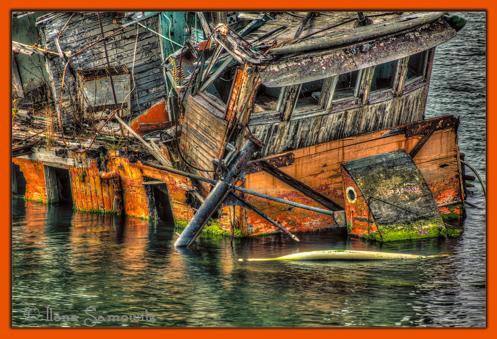 9-25-12 Close Up of the Mary D Hume in Gold Beach, Oregon.  This is a 5 image HDR processed in Photomatix and Color Effex 4.  <br /> <br /> Critiques Welcome.