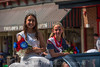 Salem County Fair Queen Isabella Briseno and Little Miss Salem County Fair Queen Kylie Glanton