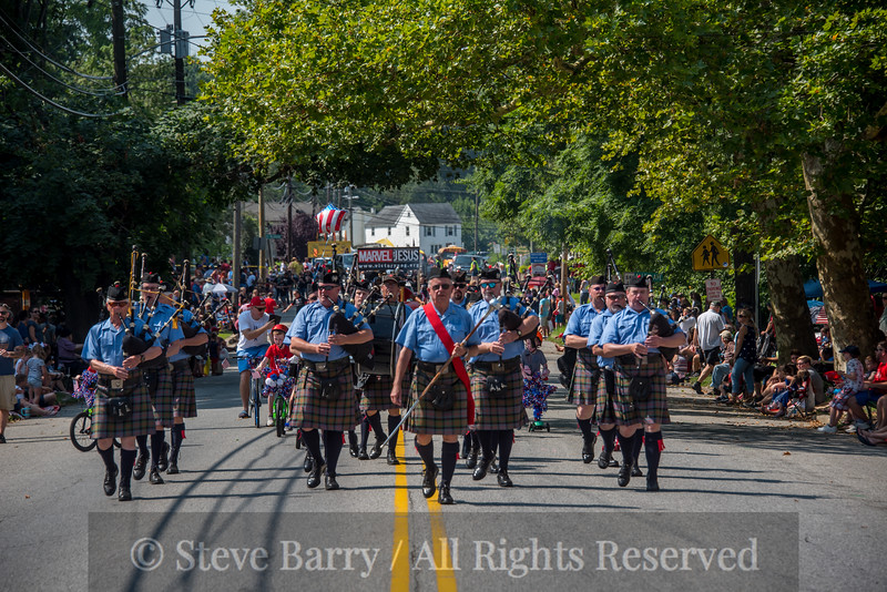 Bagpipes on the way