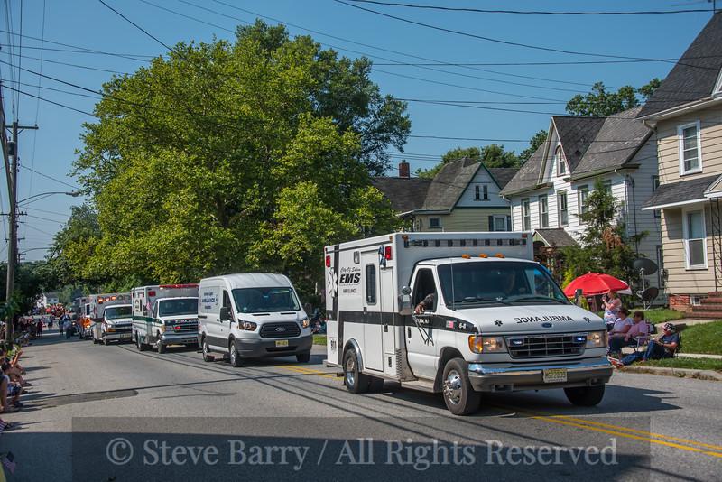 Salem EMS, American Legion ambulance