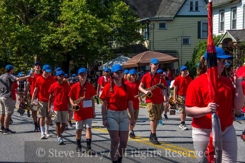 Woodstown High Marching Band