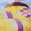 Rising balloons