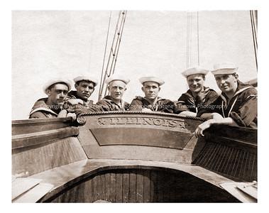 R15-sailors-ndg-nlg-3105 sailors, photo believed taken early 1900's