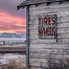 Tires and Wheels, Bosler, WY  2010<br /> © Edward D Sherline