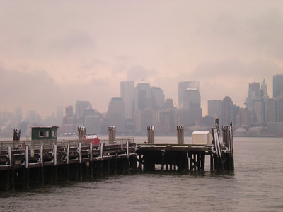 New York from the dock