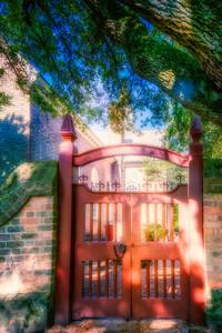 Bruton Parish gate