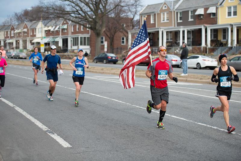 Running the flag