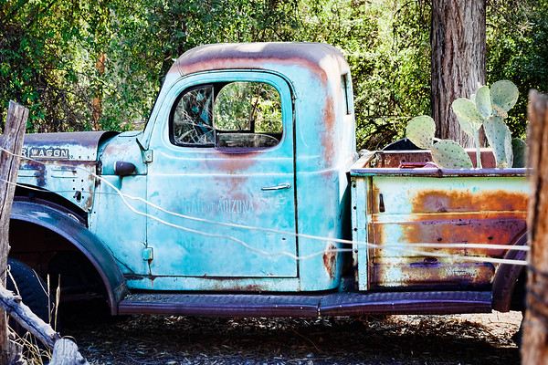Arizona Truck - Boyce Thompson Arboretum