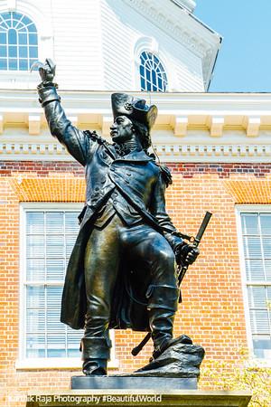 Baron Dekalb, Annapolis, Maryland