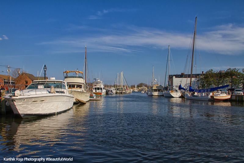 Chesapeake bay boats, Annapolis, Maryland