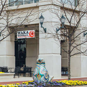 Public sculpture, Chicken, Hatching the Arts, Annapolis, Maryland
