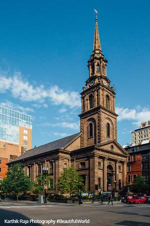 Arlington Street Church, Boston, Massachusetts