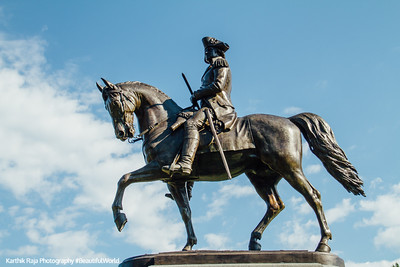 George Washington, Equestrian Statue, Boston Public Garden, Boston, Massachusetts