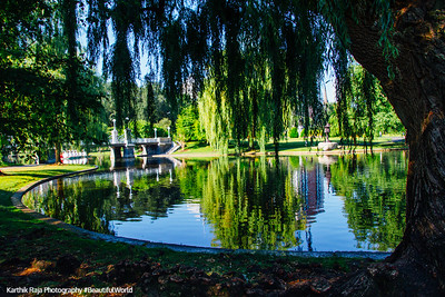 Boston Public Garden, Boston, Massachusetts