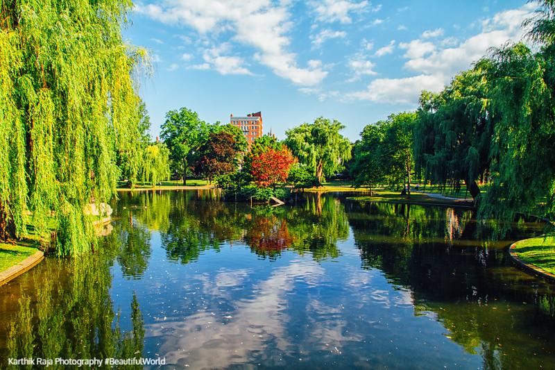 Boston Public Garden, Boston, Massachusetts