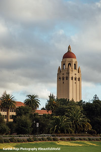Hoover Tower, Stanford Campus, University, Palo Alto, California