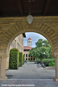 Main Quad, Stanford Campus, University, Palo Alto, California
