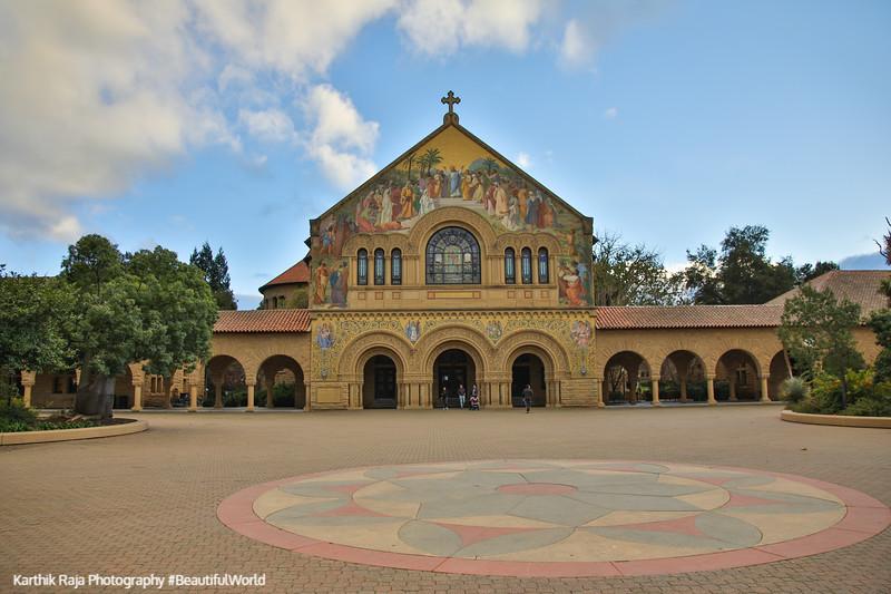 Memorial Church, Chapel, Stanford Campus, University, Palo Alto, California