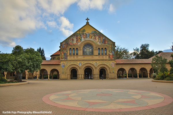 Memorial Church, Chapel, Stanford Campus, University, Palo Alto, California