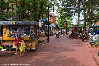 Pearl Street, Boulder Colorado