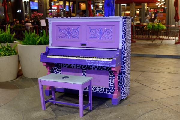 Piano on 16th Street Mall, Denver, Colorado