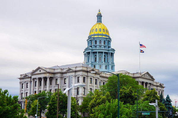 Colorado State Capitol, 16th Street Mall, Denver, Colorado