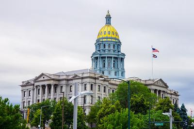 Colorado State Capitol, 16th Street Mall, Denver, Colorado