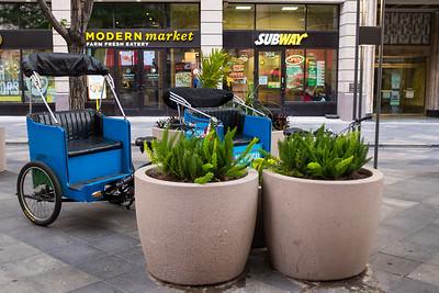 Cycle Rickshaws, 16th Street Mall, Denver, Colorado